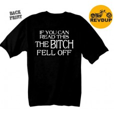 """T-Shirt Camisa Hot Leathers Preto """"The Bitch Fell Off"""""""
